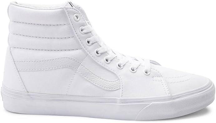white high top vans