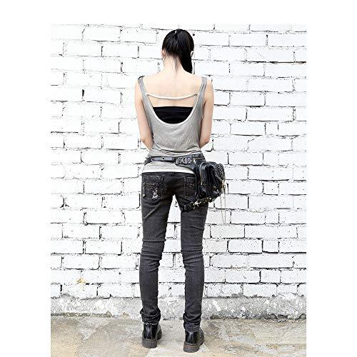Luxe Beck Cuisse Sac Steampunk Taille La Bandoulière À A Pour Nuit Gothique Usage Femmes De Holster Sacs Main Orlando Boîte couleur A Double rqwxrPH