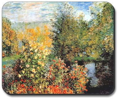 (Monet: Stiller Winkle Mouse Pad - by Art Plates )