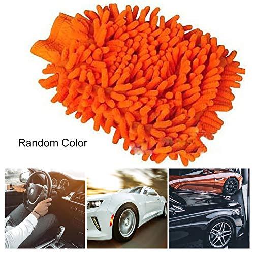 Random ARSUTE Nuovi strumenti di Utilit/à Creativa Strumento di lavaggio Auto Strumento di lavaggio Auto Assorbente Bath Scrub Asciugamano Car Wash Guanti