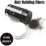 Easy to Use Lose Hair Building Fibers Dark Brown Color 22g