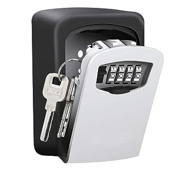 Wall Mount Safe Key Storage Box Security Lock 4digital Combination Code Antirust