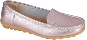 81a6b7470f1 Jo and Joe Womens Ladies Luxury Leather Loafers In White