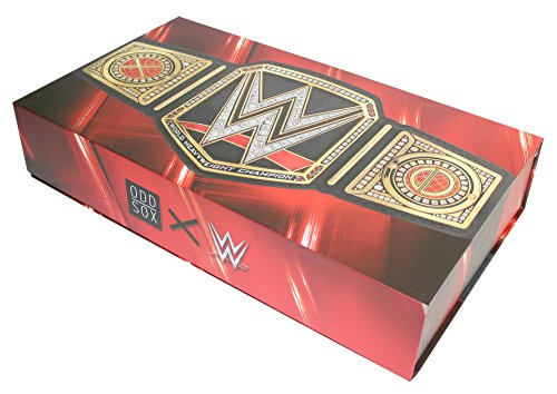 Odd Sox Limited Edition WWE Legends Gift Box Set 360 Knit Crew Sock (8-Pair) by Odd Sox (Image #3)