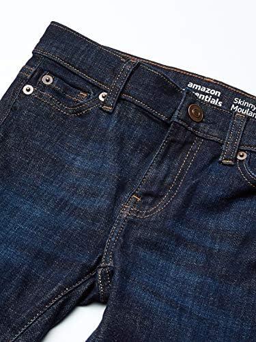 Fiona//Dark Wash Essentials Girls Skinny Jeans 7P