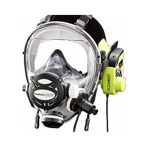 Ocean Reef Neptune Space G. Divers Series Full Face Mask Kit (Small/Medium, Cobalt)