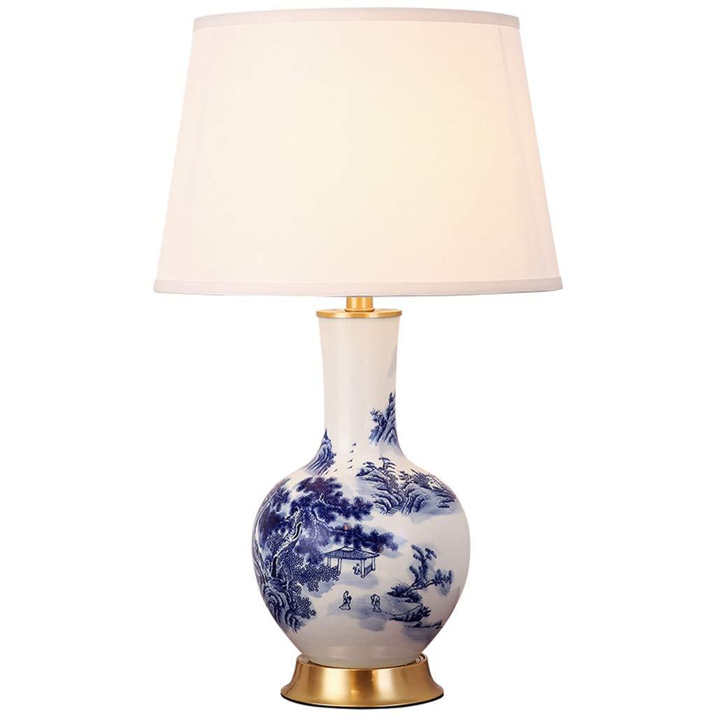 Amazon.com: WCJ - Lámpara de mesa de cerámica china para ...