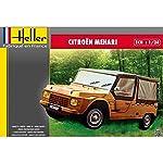"""Heller 80760 """"Citroen Mehari Plastic Model Kit, 1:24 Scale from Heller"""