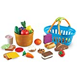 Learning Resources New Sprouts Deluxe Market Set, Grocery Toy, 32 Piece Set, Ages 2+