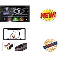 DNX694S Kenwood eXcelon DNX694S All-In-One Navigation Receiver W/ Cache Night Vision Car License Plate Rearview Camera