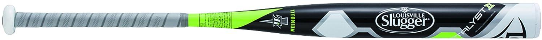 Louisville Slugger(ルイスビルスラッガー) ソフトボール用バット (革ゴム3号) 反発基準対応モデル WTLJKS17S ブラック×ホワイト 84cm/740g平均 B01M0XXQGI