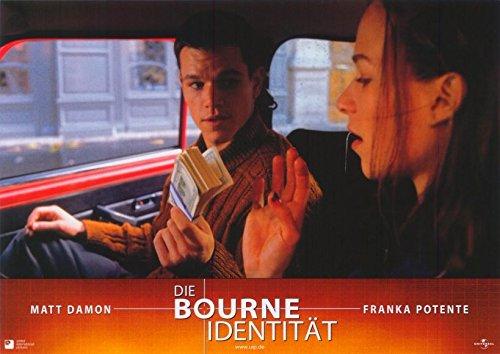 The Bourne Identity Poster Movie German D 11x14 Matt Damon Franka Potente Chris Cooper Brian Cox (Brian Christmas Cox)