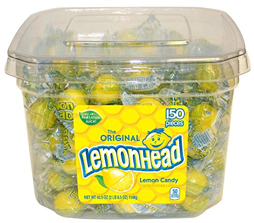 Lemonhead 150ct Tub - Individually Wrapped ()