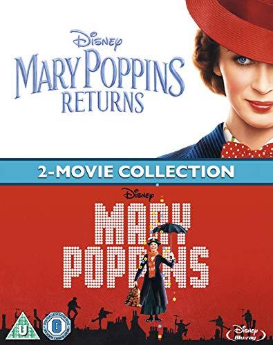 Mary Poppins Returns Doublepack [Blu-ray] [2018] [Region Free]