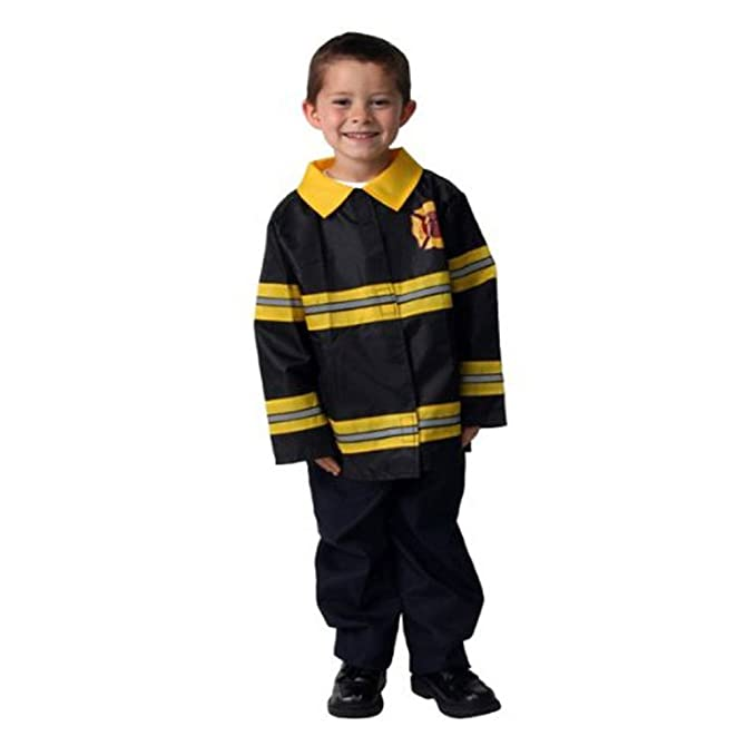 Fireman Fire Fighter Dressup Halloween Costume Size 6/8