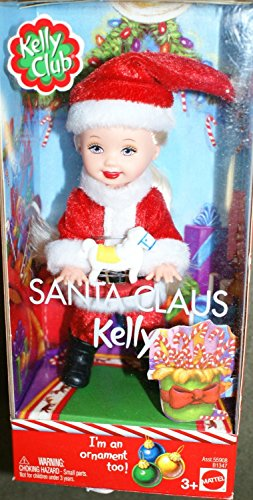 (Barbie Kelly Club Santa Claus Kelly doll ornament)