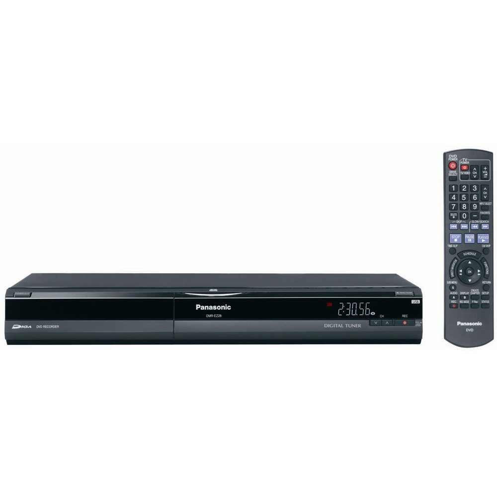 Amazon.com: Panasonic DMR-EZ28K DVD Recorder with 1080p Upconversion (2004  Model): Electronics