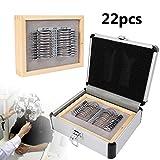 22pcs Professional Progressive Trial Lens Set with Aluminum Case Measurement range sph: 1.00-3.50DS