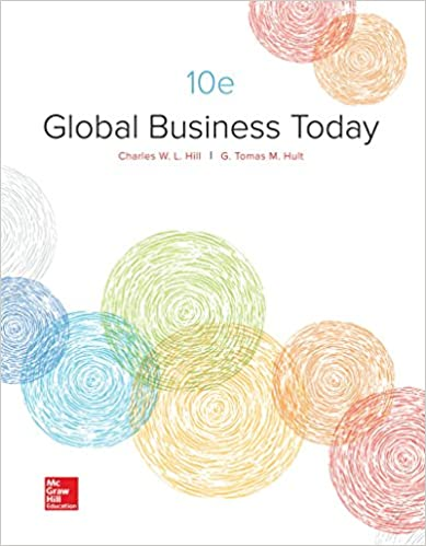 Amazon.com: Loose Leaf Global Business Today (9781260152470 ...