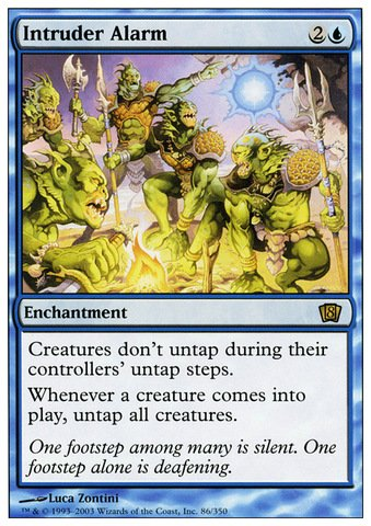 Magic: the Gathering - Intruder Alarm - Eighth Edition ()
