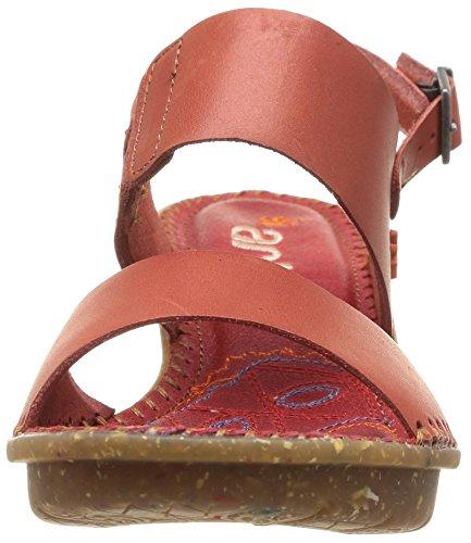ART VENICE - Sandalias de vestir de cuero para mujer rojo - Rot (GRANADA)
