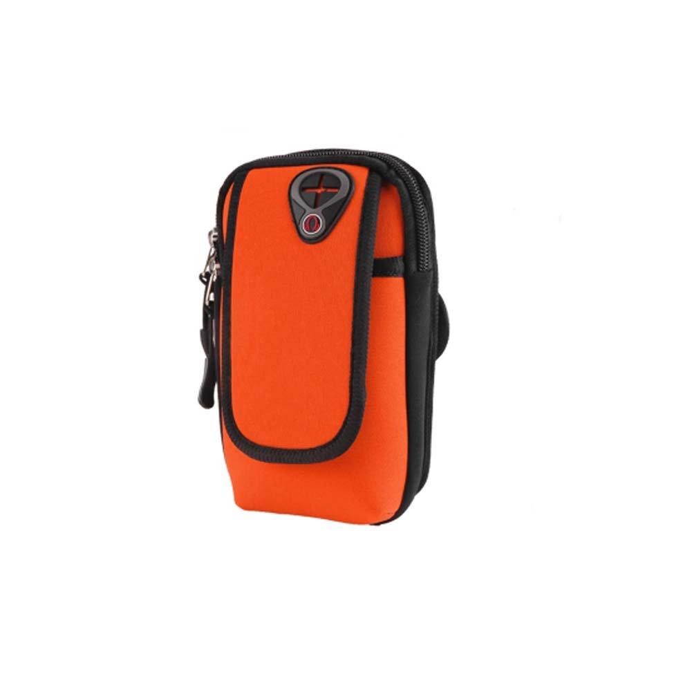メンズ/レディースフィットネス手首バッグRunning旅行ハイキング携帯電話アームパック_ a12 B075FM2B2L