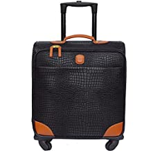 Bric's Mysafari 20 Inch International Carry-on Widebody Expandable Spinner, Black