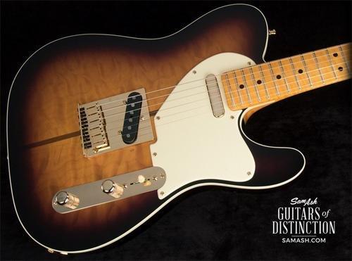 Fender Custom Shop Artist Series Merle Haggard Signature Telecaster Electric Guitar 2-Color Sunburst