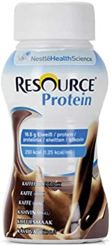 Nestle Resource® - Bebida de proteínas para café, 200 ml, 24 ...