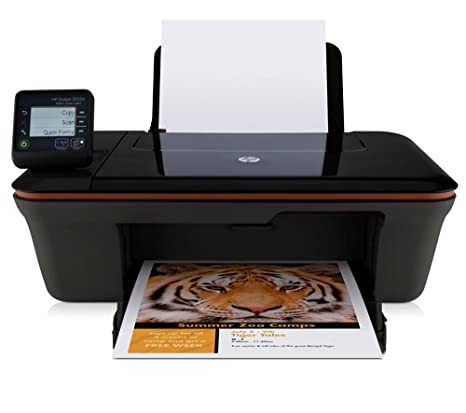 HP Deskjet 3055A e-All-in-One - Impresora multifunción de tinta color (A4, monocromático 5.5 páginas por minuto, color 4 páginas por minuto, USB 2.0, ...