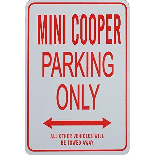 Signes de stationnement MINI COOPER - MINI COOPER Parking Only Sign
