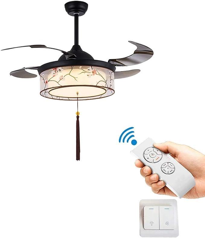 Ventiladores de techo con lámpara Ventilador Invisible chino ...