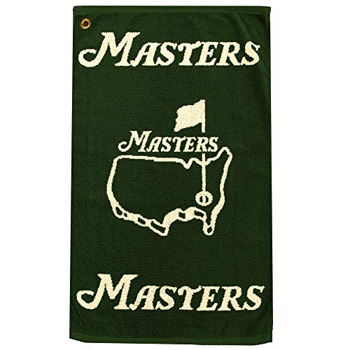 (Authentic Masters Green Golf Towel )