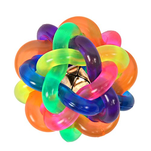 HBuir Pet Chew Toys Dog Colorful Bouncy Rubber Balls with (Toys R Us Ball Dog)