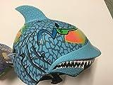 Shark Maxx Blu Children's Helmet with Rubber Top Fin Review