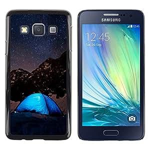 iKiki Tech / Estuche rígido - Night Sky & Stars Mountains - Samsung Galaxy A3 SM-A300