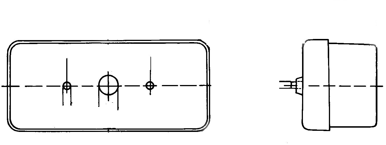 con junta 12V derecha HELLA 2SD 002 582-021 Piloto posterior