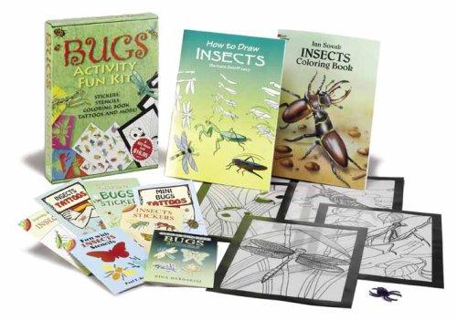 Bugs Activity Fun Kit (Dover Fun Kits) (Kits Fun Dover)