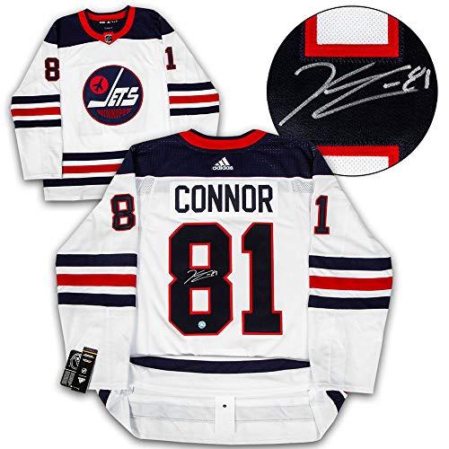 Kyle Connor Winnipeg Jets Autographed Signed Heritage Logo Adidas Authentic Hockey Jersey - Certified Authentic - Jets Winnipeg Signed