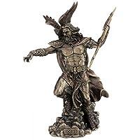 Unbekannt MC - Statua Zeus dea Greco con Aquila, bronzata