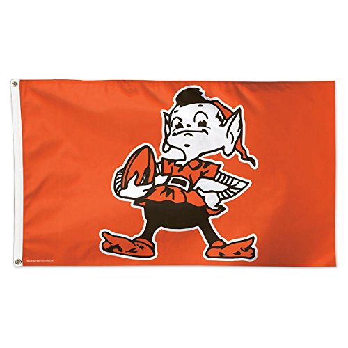 nd Browns 14457115 Deluxe Flag, 3' x 5' ()