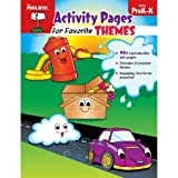 Activity Pages for Favorite Themes : PreK-K, The Mailbox Books Staff, 1612764339