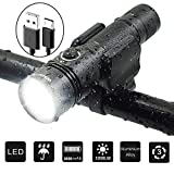 Best Bicycle Lights 1200 Lumens Rechargeables - WasaFire USB Rechargeable Bike Lights-1200 Lumens Fully Waterproof Review