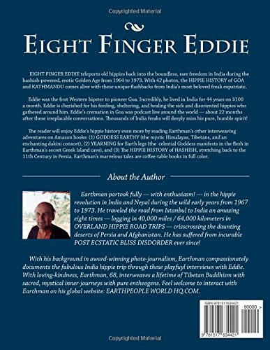 Eight finger eddie the hippie history of goa and kathmandu eight finger eddie the hippie history of goa and kathmandu earthman 9781517634421 amazon books fandeluxe Images