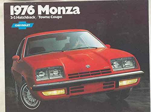 1976 Chevrolet Monza 2+2 Hatchback Towne Coupe Brochure Canada - Towne Coupe