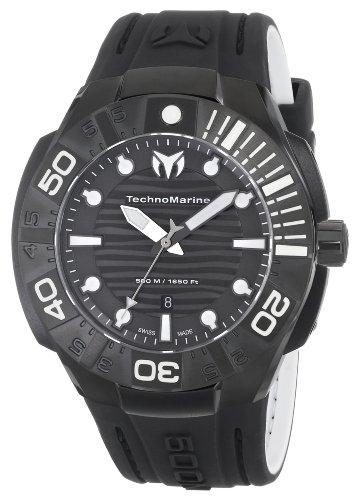 TechnoMarine Men's 513003 Black Reef Watch