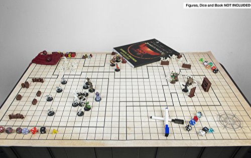 Battle Grid Game Mat 36 Quot X 24 Quot Role Playing Game Map