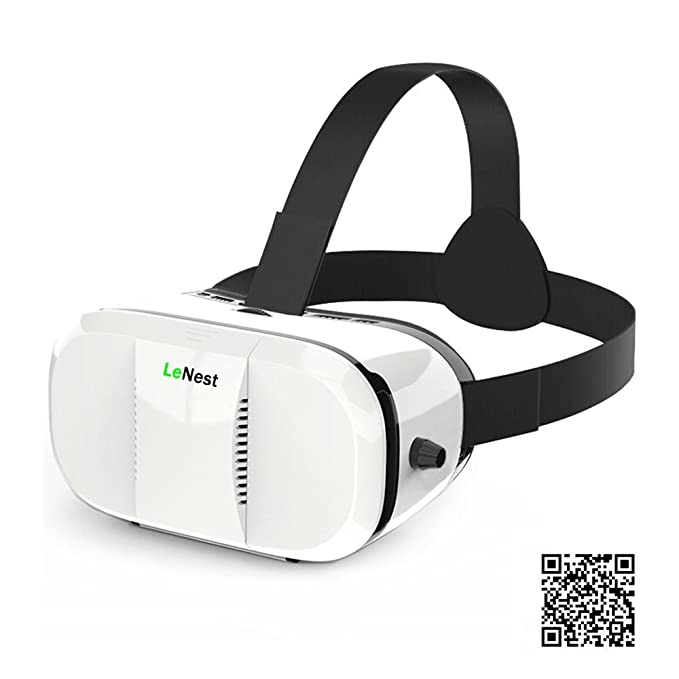 Amazon com: LeNest VR Headset-Virtual Reality Headset 3D
