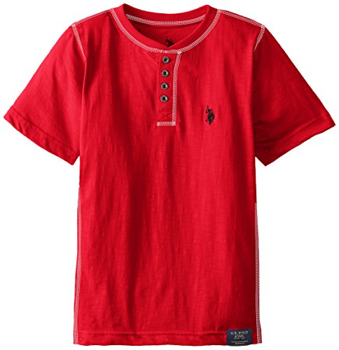 us-polo-assn-big-boys-slub-jersey-short-sleeve-henley-engine-red-14-16