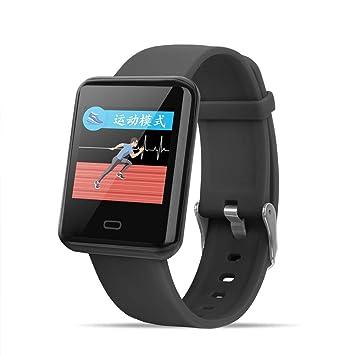 Pulsera Actividad Reloj Inteligente con Pulsómetro Pulsera Deportiva y Monitor de Ritmo Cardíaco Monitor de Actividad Impermeable 1.3 Pantalla a Color Reloj ...